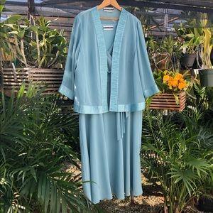 Dana Kay Formal dress with sheer jacket